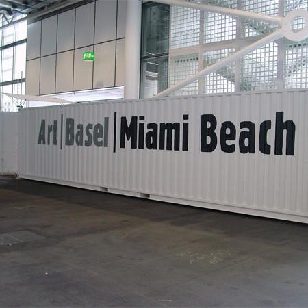 Gallery Container für ART Basel-Miami Beach